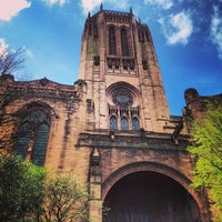 Photo taken at Liverpool Cathedral by Camel G. on 5/5/2013