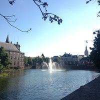 Photo taken at Hofvijver by Eric JF K. on 8/30/2013