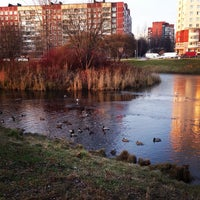 Photo taken at Площадка у ТРЦ «Июнь» by София Ф. on 11/17/2014