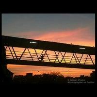 Photo taken at Bandra Railway Station by Salman S. on 7/24/2013