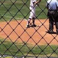 Photo taken at Red Murff Field (UMHB) by Jason M. on 5/3/2014