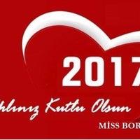 Photo taken at Miss Bordo AŞ by Kurti B. on 12/31/2016