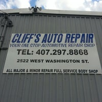 Photo taken at Cliff's Auto Repair by Joey R. on 10/9/2012