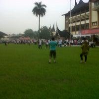 Photo taken at Kantor Gubernur Sumatera Barat by Mona A. on 3/8/2014