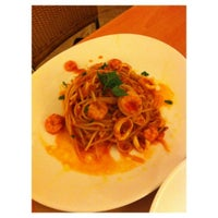 Photo taken at Aria Cucina Italiana by Nasnin Y. on 5/18/2013