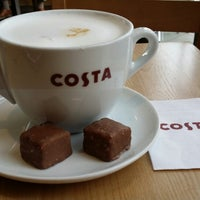 Photo taken at Costa Coffee by Rob N. on 3/19/2014