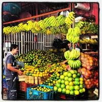 Photo taken at Plaza de Mercado de Paloquemao by Edgar Mauricio O. on 12/16/2012