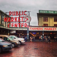 Photo taken at Pike Place Fish Market by Natee P. on 3/1/2013