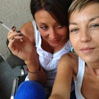 Photo taken at GREY Zagreb by Nina I. on 8/30/2013