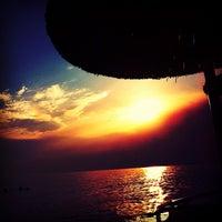 Photo taken at Koviou Beach by Dimitris M. on 6/21/2013