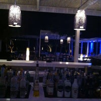 Photo taken at Ακρωτήριο Lounge Beach Bar by Emilia K. on 7/14/2013