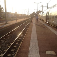 Photo taken at Gare SNCF d'Arcachon by Maxime C. on 5/4/2013