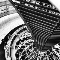 Photo prise au Coupole du Reichstag par Nils Wiemer W. le4/23/2013