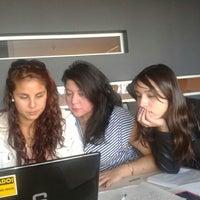 Photo taken at Biblioteca Inacap by Maria Paz V. on 5/8/2013