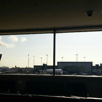 Photo taken at Gate D2 by Annette W. on 4/18/2015