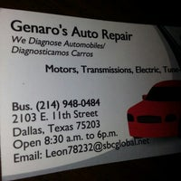 Photo taken at Genaros Auto Repair by Vic M. on 11/23/2013