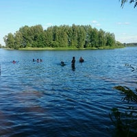 Photo taken at Дачный Пляж На Волге by Alex K. on 7/31/2016