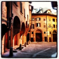 Photo taken at Piazza Santo Stefano by gus on 1/27/2013