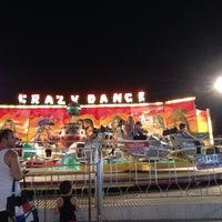 Photo taken at Akçay Lunapark by İrem A. on 8/13/2014