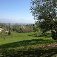 Photo taken at Crocetta del Montello by Alberto B. on 4/25/2013