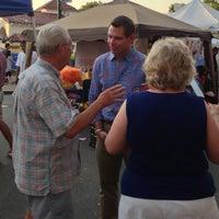 Photo taken at 1st Wed. Pleasanton Main Street Fair by Rep S. on 7/4/2013