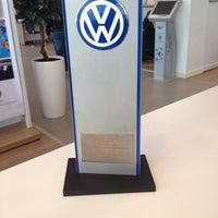 Photo taken at Volkswagen ТрансТехСервис by Николай Г. on 11/5/2013