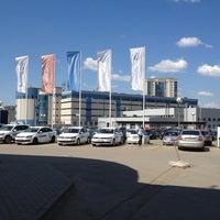 Photo taken at Volkswagen ТрансТехСервис by Николай Г. on 6/3/2013