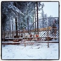 Photo taken at Joulupukin Pajakylä by Olga S. on 1/5/2014