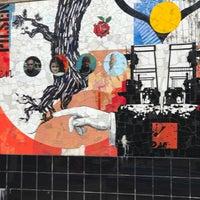 Photo taken at Vida Simple Mural By Juan Angel Chávez by William S. on 10/3/2017