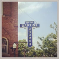 Photo taken at 16th Street Baptist Church by Peter R. on 5/28/2013
