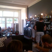 Photo taken at cafe madeleine by Laia T. on 7/18/2013