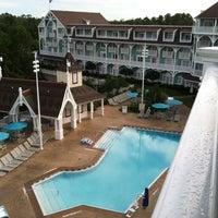 Photo taken at Disney's Beach Club Villas by Deborah B. on 4/30/2013