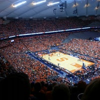 Photo taken at Carrier Dome by Patrick M. on 2/23/2013