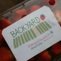 Photo taken at Backyard Strawberry by Bow N. on 3/5/2014