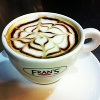 Photo taken at Fran's Café by Silvio A. on 1/28/2013
