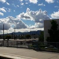 Photo taken at Metrolink Burbank-Bob Hope Airport Station by Fidel M. on 11/1/2014