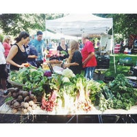 Photo taken at Dufferin Grove Farmers' Market by Fat Girl Food Squad T. on 8/1/2013