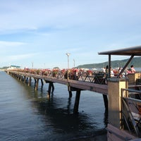 Photo taken at Chalong Bay Pier by Winz S. on 5/13/2013
