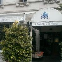 Photo taken at I Sapori Del Mare by Kostya on 9/8/2013