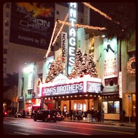 Photo taken at Pantages Theatre by Andrew C. on 11/28/2012