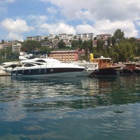 Photo taken at İstinye Marina by Murat D. on 7/4/2013
