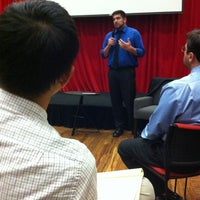Photo taken at Crawford Family Forum by Mike R. on 10/16/2012