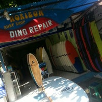 Photo taken at Horizon surfboard store by Guy on 6/3/2016