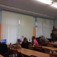 Photo taken at Школа №1347 (главное здание) by Кристина Ч. on 10/19/2013
