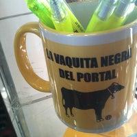 Photo taken at La Vaquita Negra Del Portal by Cynthia S. on 11/18/2012