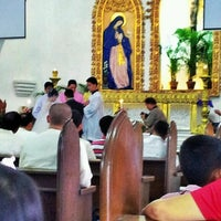 Photo taken at Our Lady of Lourdes Parish Church by Jamie S. on 12/15/2013