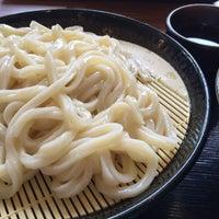 Photo taken at 讃岐製麺 熱田日比野店 by iai on 7/11/2015