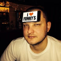 Photo taken at Funkys Bar by EBober B. on 3/8/2014