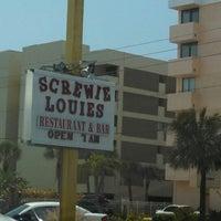 Photo taken at Screwie Louie's by Tom C. on 4/21/2013