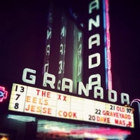 Photo taken at Granada Theater by Kimmy H. on 2/14/2013